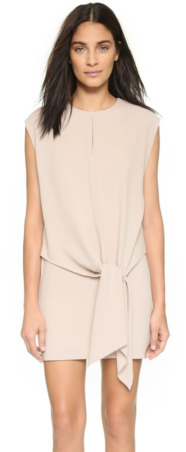 Tibi Tie Dress ($375)