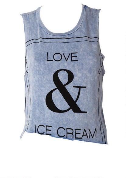 Alloy Love and Ice Cream Tank
