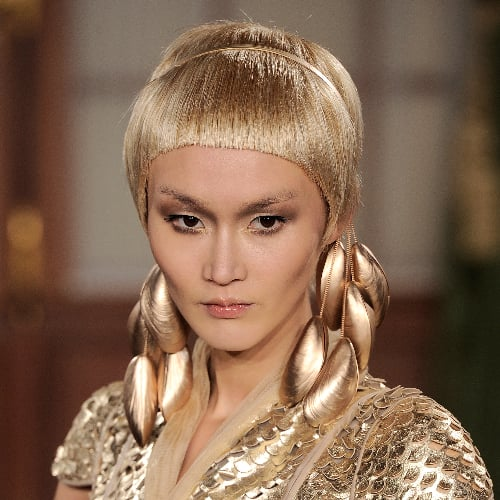 Haute couture fashion week hair and makeup 2013 popsugar for Haute hairie