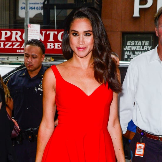 Meghan Markle Red Floral Erdem Dress