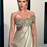 Scarlett Johansson at the Vanity Fair Oscars Afterparty 2020
