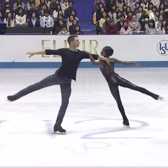 "Couple's Figure Skating Routine to ""The Sound of Silence"""