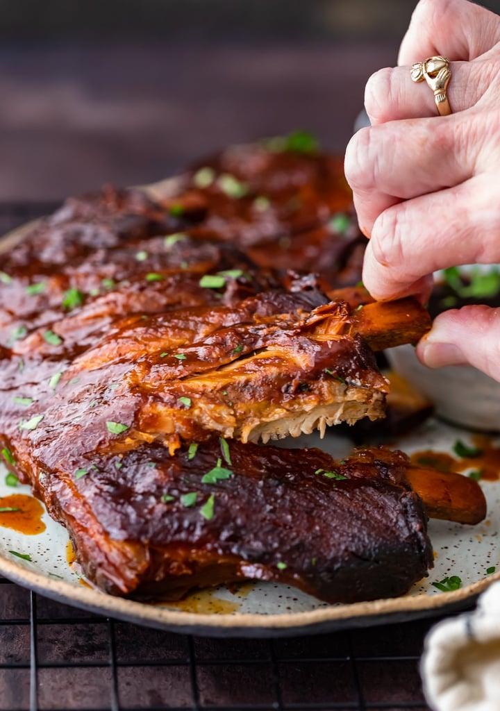 Easy Crock Pot Ribs Super Bowl Appetizer Recipes