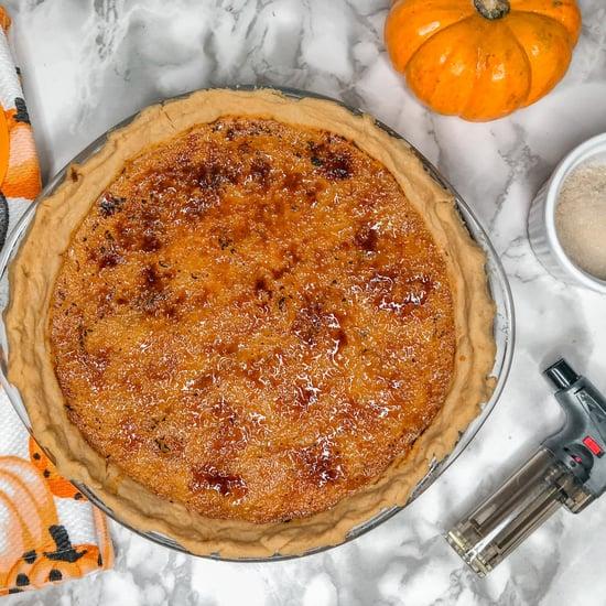 Crème Brûlée Pumpkin Pie Recipe With Photos