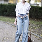 Give It a Bohemian Look With Flared Jeans
