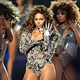 "Beyoncé was all sass as she performed ""Single Ladies"" during MTV's 2009 Video Music Awards at NYC's Radio City Music Hall."