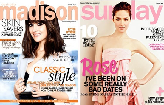 Rose Byrne Covers Madison June 2011 and Sunday Magazine May 22 2011