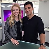 We went host to host with Mario Lopez, talking about The X Factor and being a parent!