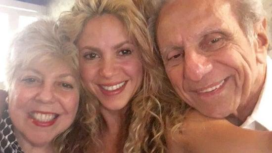 Shakira Celebrates Father's 85th Birthday With Adorable Family Pics