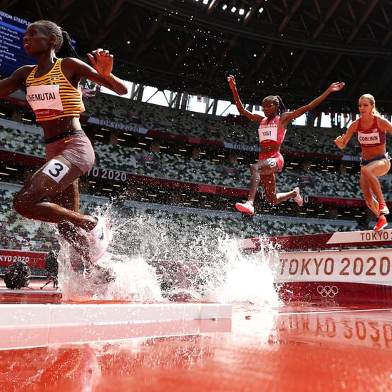 Why Runners Jump Over Water in Steeplechase