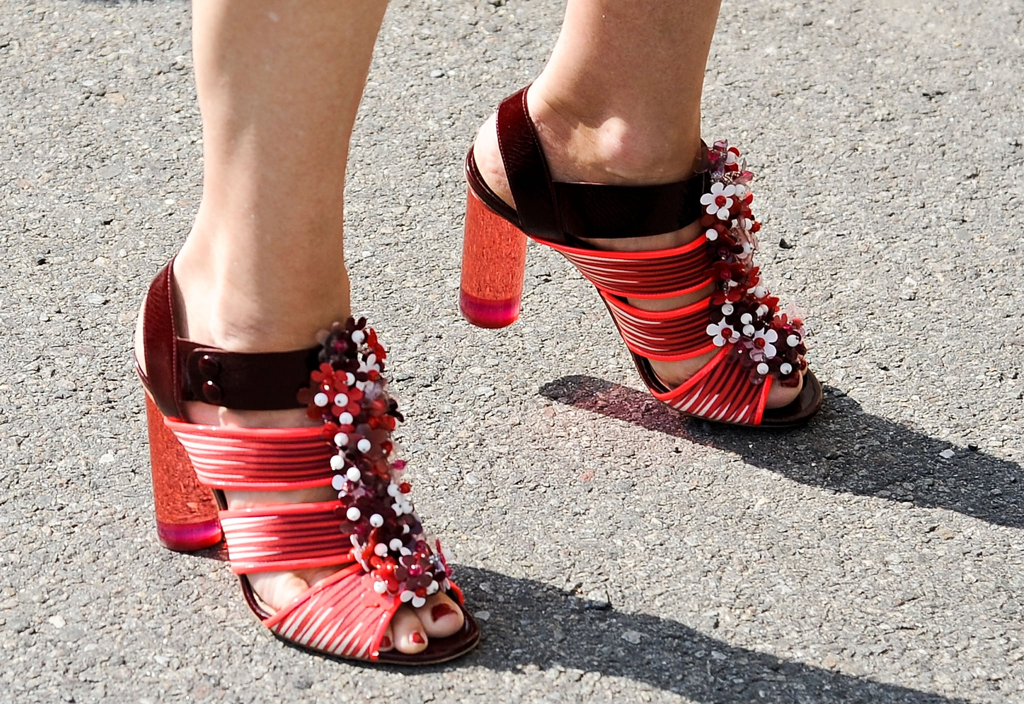 The coolest kind of quirky heels.