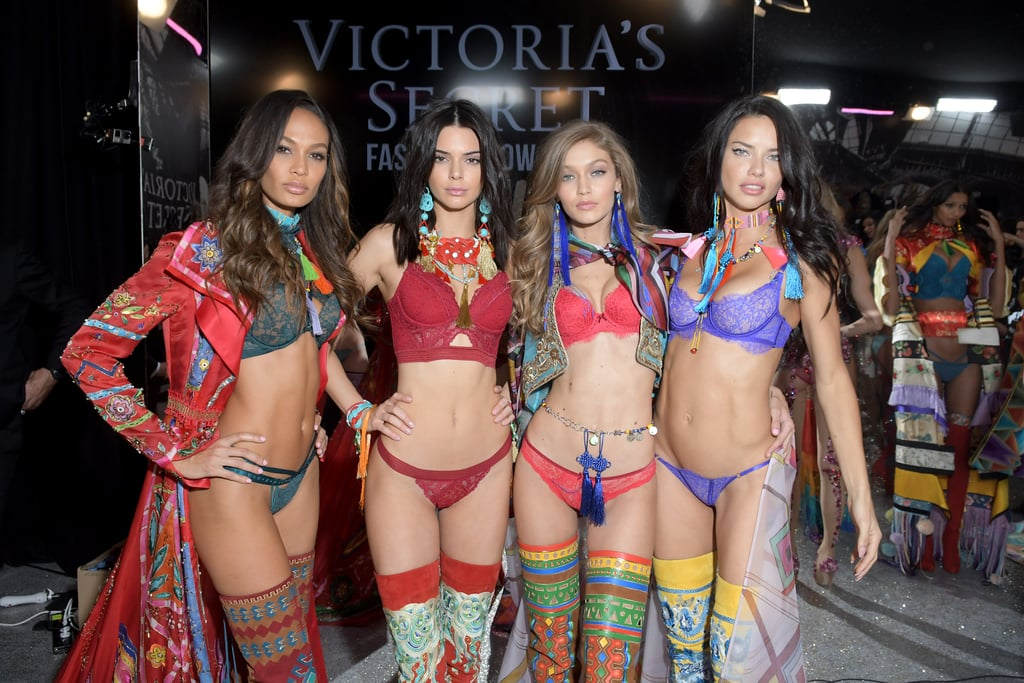 Pictured: Adriana Lima, Joan Smalls, Kendall Jenner, and Gigi Hadid