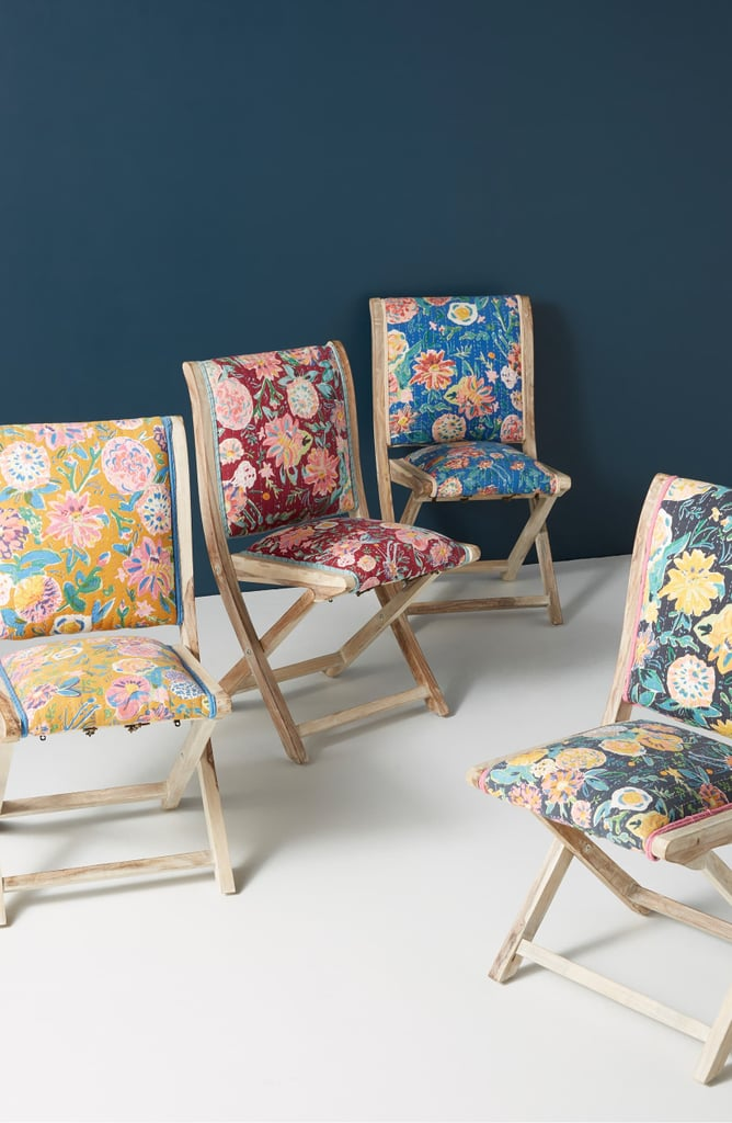Anthropologie Emma Terai Folding Chair Best Furniture