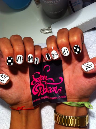 WTF Nail Art by Sophy Robson's Nail Salon