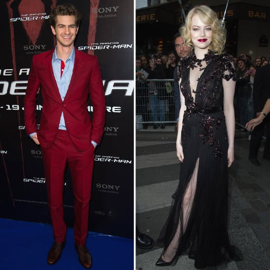 Andrew Garfield and Emma Stone Bring Their Amazing Spider-Man to France