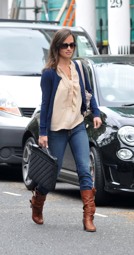 Pippa Middleton Pictures in London Going to Work