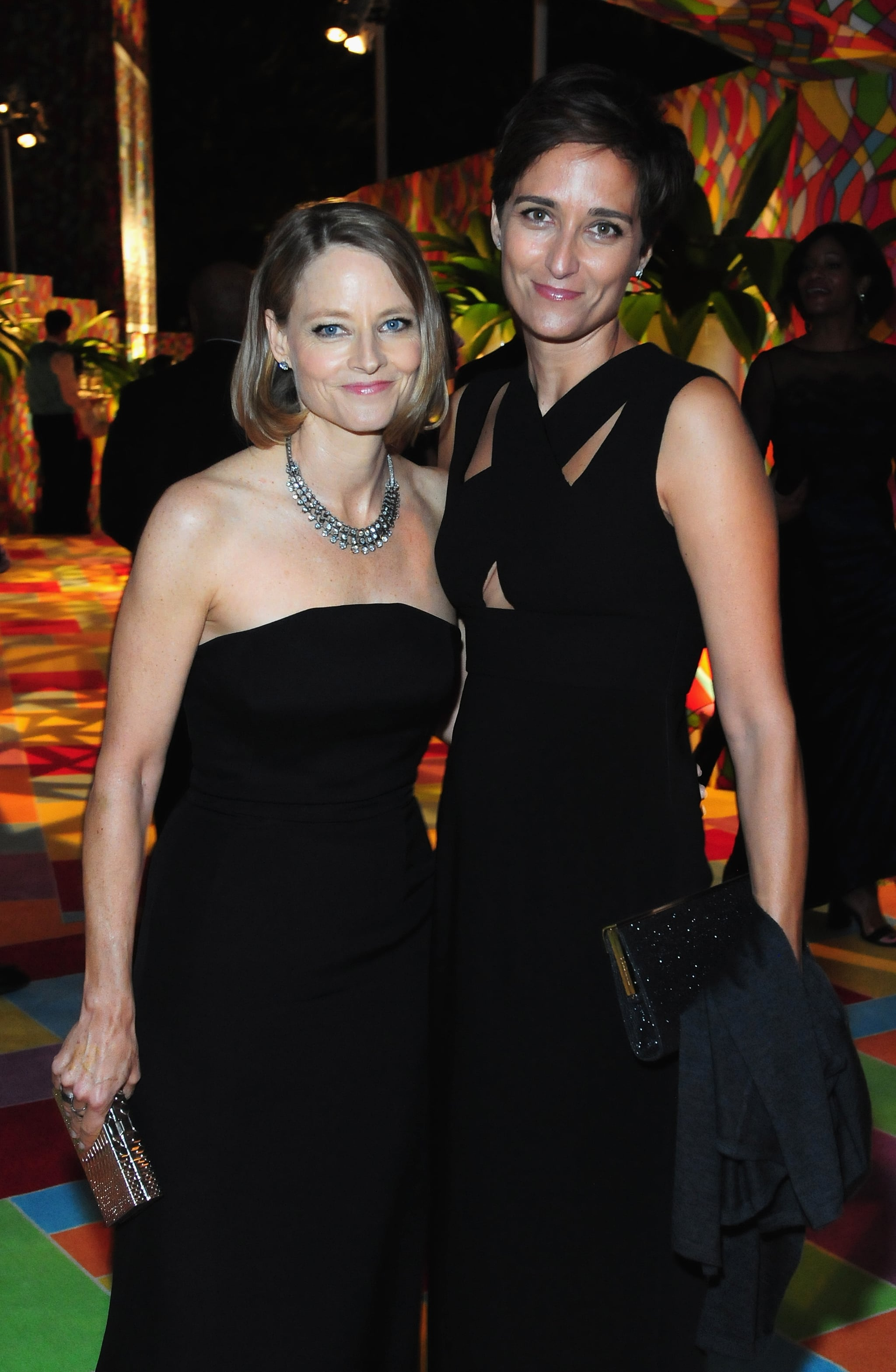 Jodie Foster and Alexandra Hedison   31 Same-Sex Celebrity Couples Who Put a Ring on It   POPSUGAR Celebrity Photo 7