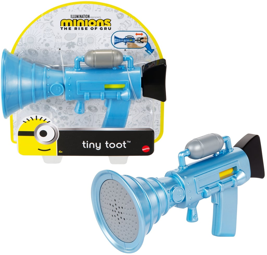 Minions Tiny Toot Fart Firing Blaster Toy