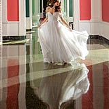 Nouvelle Amsale Allemande Gown