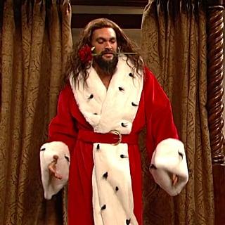 Jason Momoa A Christmas Carol Skit Saturday Night Live 2018