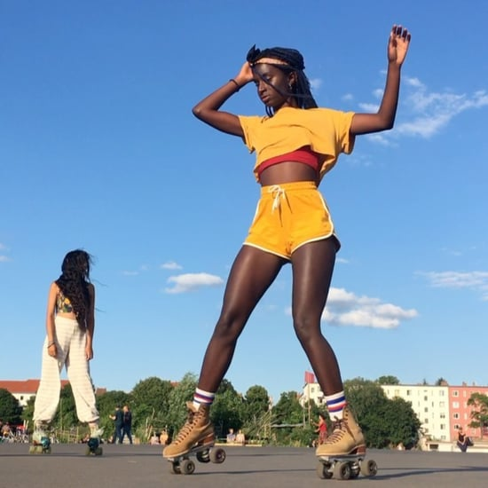 Oumi Janta Roller-Skating Videos on Instagram
