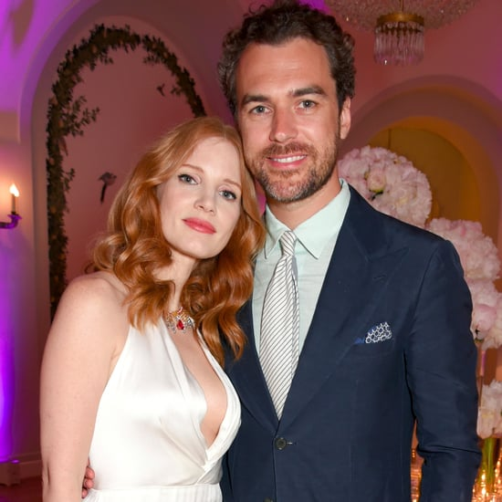 Jessica Chastain Marries Gian Luca Passi de Preposulo