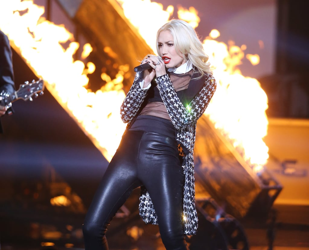 Gwen Stefani heated up the stage when No Doubt performed in 2012.