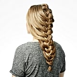 The Finished Cage Braid