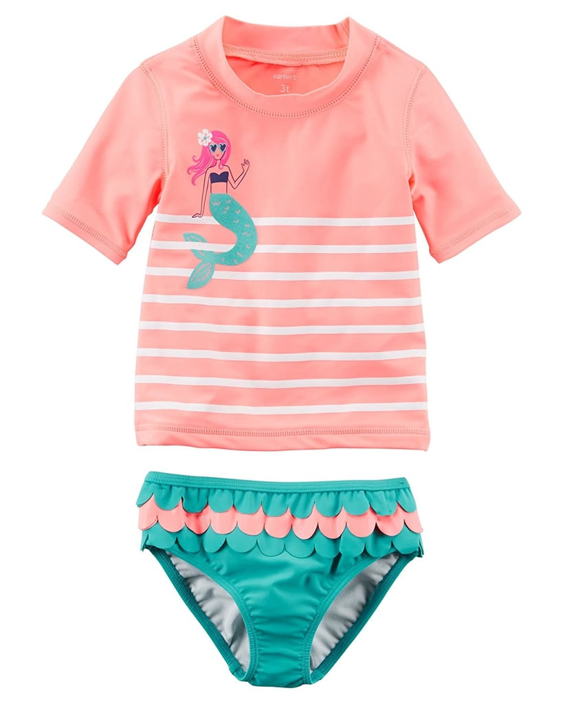 8d9cfa166a6af Carter's Girls' Two Piece Swimsuit | Baby Swimwear With SPF ...