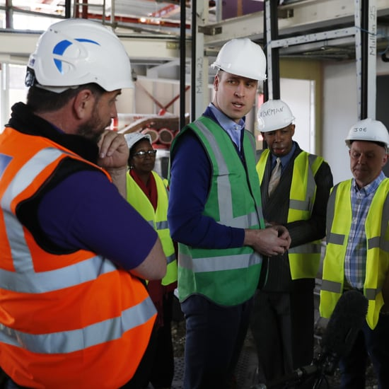 Prince William on DIY SOS