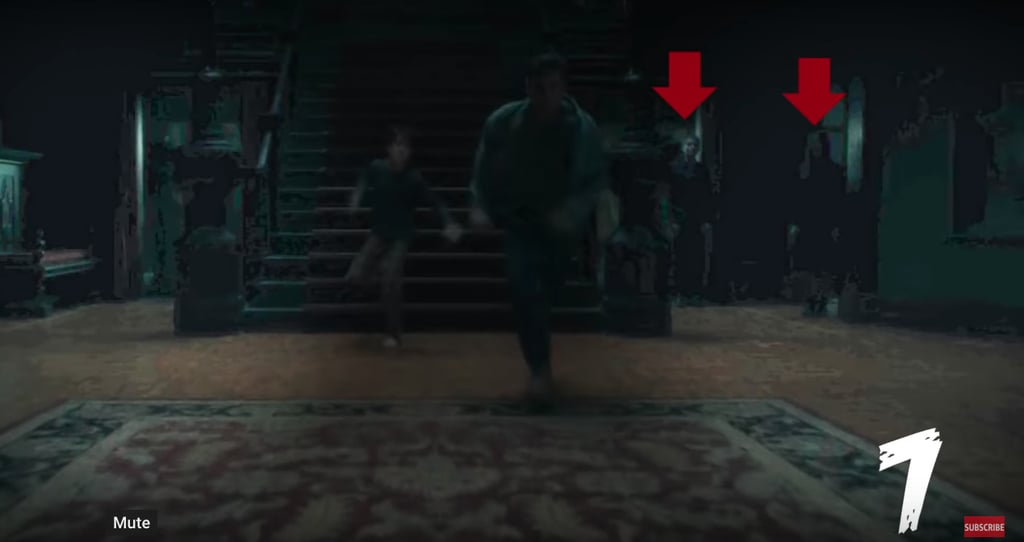 Hidden Ghosts In Haunting Of Hill House Popsugar Entertainment
