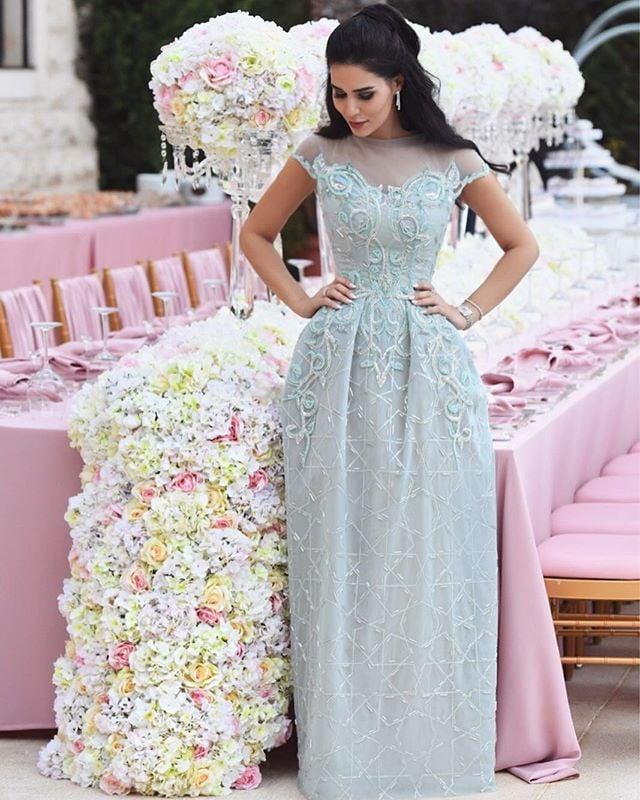 Dana Wolley Zayat Wedding Dress | POPSUGAR Fashion