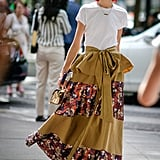 If You're Tall and Lean: Wear a Maxi Skirt