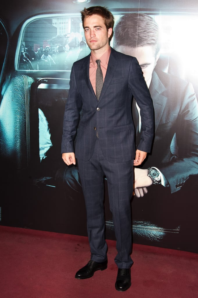 Robert Pattinson walked the red carpet at the Cosmopolis premiere in Paris.