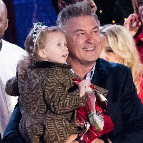 Alec Baldwin's Daughter at NYC Christmas Tree Lighting 2016