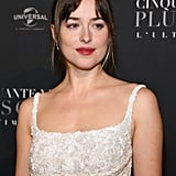 Pictured: Dakota Johnson (What's this? Dakota is the daughter of Melanie Griffith and Don Johnson? And Daisy Edgar-Jones is . . . not at all. So close.)