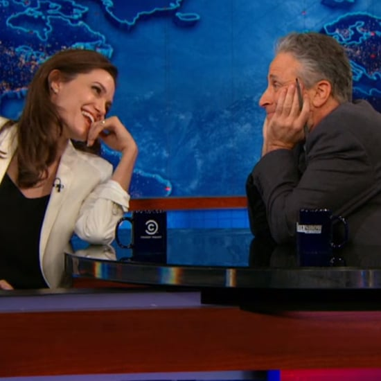 Jon Stewart Imagines What His Life Would Have Been Like With Angelina Jolie