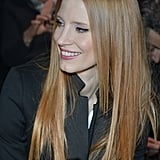 Jessica Chastain With Straight Hair and Center Part in 2013