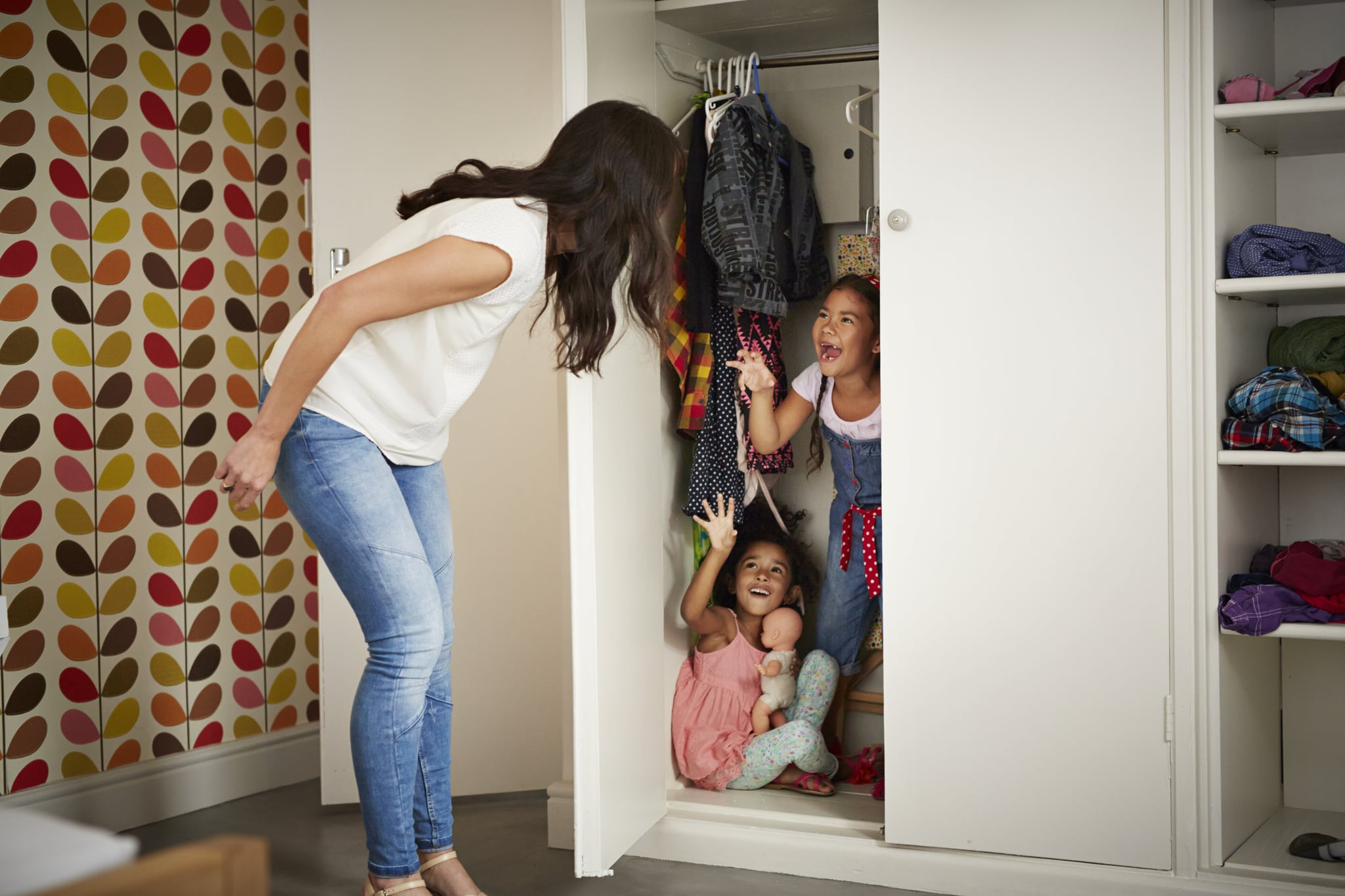 Play Hide and Seek   The Ultimate List of Indoor Activities to Keep Kids  Entertained For Hours   POPSUGAR Family Photo 89