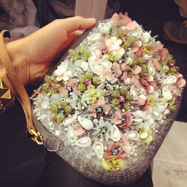 We loved this dreamy little Marni clutch.