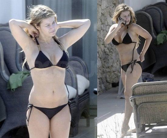Photos Of Carmen Electra In A Bikini Poolside  Popsugar -8849