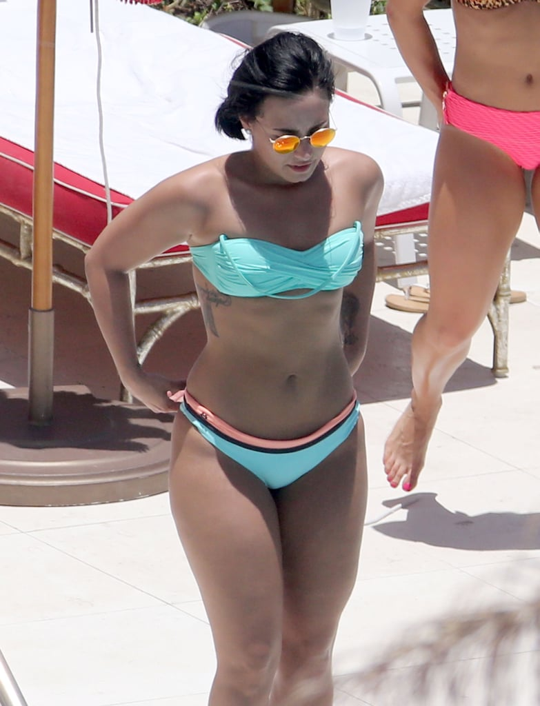 Pictures Of Demi Lovato In A Bikini