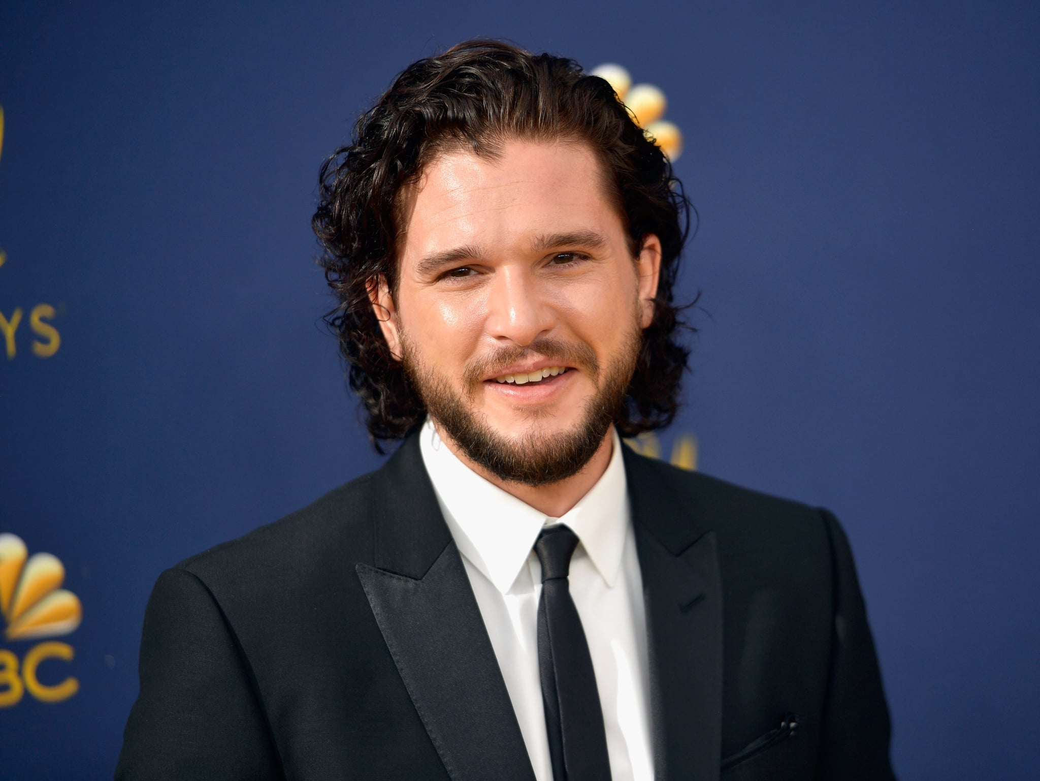 LOS ANGELES, CA - SEPTEMBER 17:  Kit Harington attends the 70th Emmy Awards at Microsoft Theatre on September 17, 2018 in Los Angeles, California.  (Photo by Matt Winkelmeyer/Getty Images)