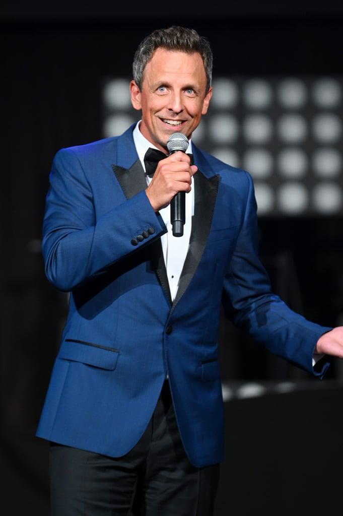 Seth Meyers at the 2019 Diamond Ball