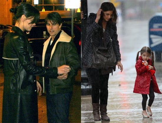 Photos of Tom, Suri, and Katie Out in Boston 2009-11-16 08:43:39