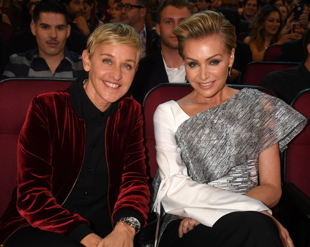 Ellen DeGeneres Portia de Rossi 2017 People's Choice ...