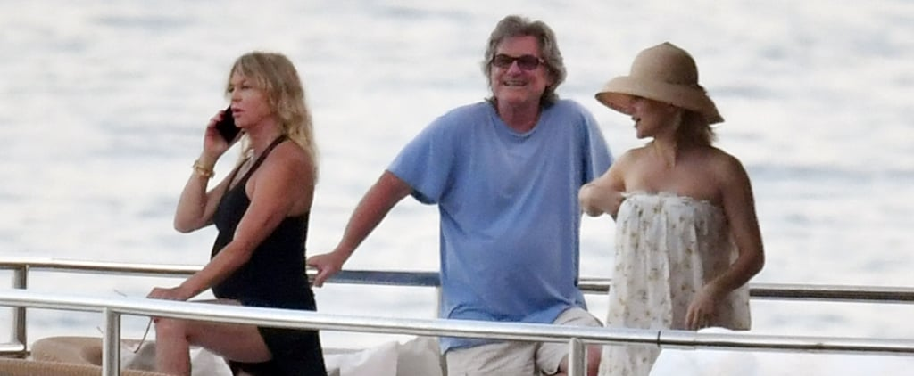 Kate Hudson and Goldie Hawn on Holiday in Italy Photos 2019