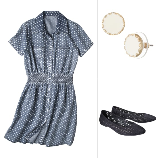 Spring Polka-Dot Separates From Target