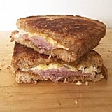 Prosciutto Grilled Cheese With Pumpkin Butter