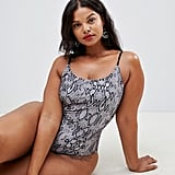 Unique21 Hero Snake-Print Swimsuit